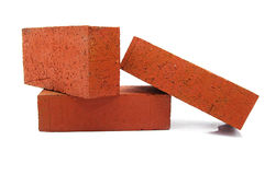 Red bricks Stock Image