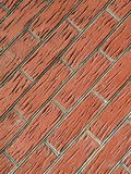 Red bricks wall Royalty Free Stock Image