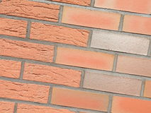 Red bricks wall Royalty Free Stock Photo
