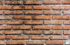 Red bricks wall background. Texture Stock Photo