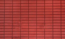 Red bricks wall pattern in asian house stock photo