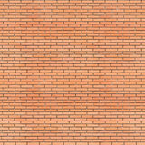 Red bricks wall seamless texture 3d illustration Royalty Free Stock Images