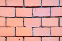 Red bricks wall texture Royalty Free Stock Image