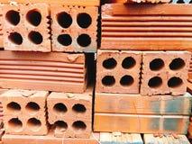 Red bricks wall texture Stock Photos