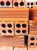 Red bricks wall texture Royalty Free Stock Photo