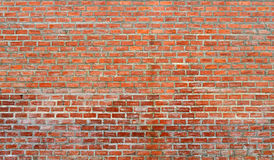 Red bricks wall. Texture background Royalty Free Stock Photo