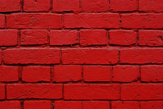 Red bricks wall texture Royalty Free Stock Photography