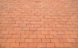 Red Bricks Wall Texture Stock Photography