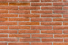 Red bricks on a wall Royalty Free Stock Photography