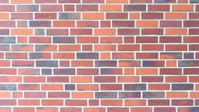 Red brickstone wall - landscape mode. New red brickwork wall - landscape mode Royalty Free Stock Image