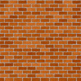 Red brickwall. Seamlessly repeat pattern stock illustration