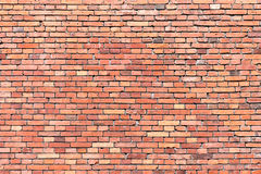 Red brickwall background Royalty Free Stock Photography