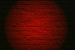 Red brickwall Stock Photo