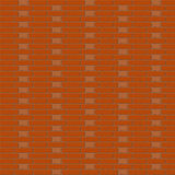 Red brickwall background - vector illustration Stock Images