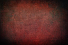 Red brickwall with dark vignette borders Stock Photos