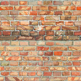 Red BrickWall Seamless Texture Stock Images