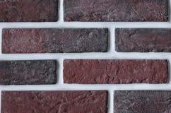 Red brickwork Stock Images