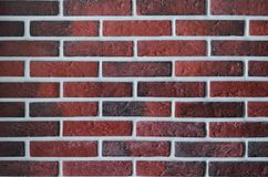 Red brickwork . stock photography