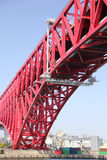 Red Bridge Royalty Free Stock Photos