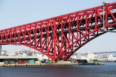 Red Bridge Stock Image