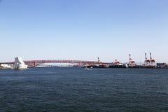Red Bridge Stock Photos