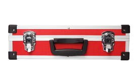 Red briefcase Royalty Free Stock Photography