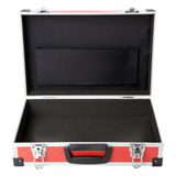 Red briefcase Stock Image