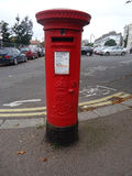 Red British Post Box Stock Image