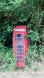 Red British telephone booth Stock Photo