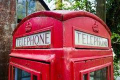 Free Red British Telephone Box Stock Photos - 93724083