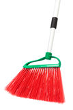 A red broom Royalty Free Stock Photography