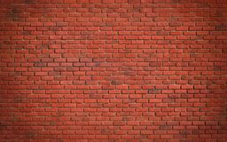 Red brown block brick wall Beautifully arranged texture background stock image