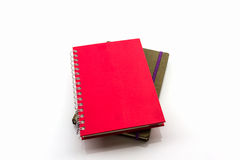 Red and brown book. Royalty Free Stock Photos
