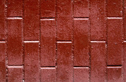Red brown brick background Stock Image
