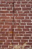 Red or brown brick texture at the building wall. Red or brown brick texture at the building wall Stock Image
