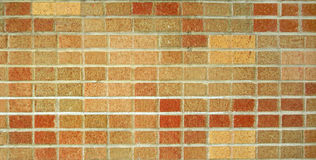 Red and Brown Brick Wall Stock Images
