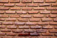Red brown brick wall texture background Royalty Free Stock Photos