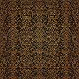 Red Brown Colors Damask Style Pattern design. Original Pattern a Royalty Free Stock Images