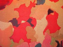 Beautiful different colors fabric texture Royalty Free Stock Photography