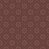 Red Brown Colors Flower Pattern Design. Korean traditional Patte Royalty Free Stock Image