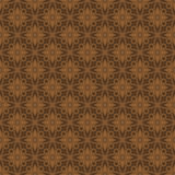 Red Brown Colors Flower Pattern Design Royalty Free Stock Image