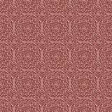 Red Brown Colors Geometry Pattern. Korean traditional Pattern De Royalty Free Stock Photography