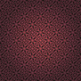 Red Brown Colors Round grid Pattern. Korean traditional Pattern Stock Photos