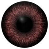 Red and brown eye 3d texture with black. Lines and fringe Stock Photos