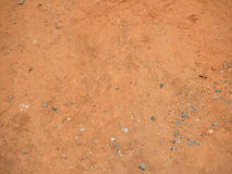 Red and brown of ground texture Royalty Free Stock Images