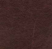 Red and brown leather texture Royalty Free Stock Photos