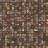 Red and brown seamless tiles Stock Image