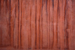 Red brown wall texture  with drips Royalty Free Stock Images