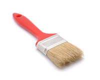 Red brush Stock Photography