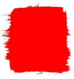 Red Brush Background Royalty Free Stock Photos